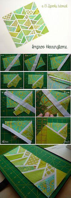 Лоскутное шитье: быстрые техники шитья, техника для начинающих