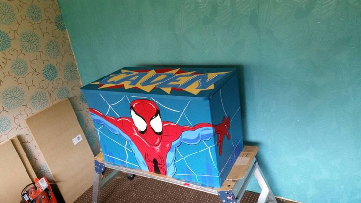 A personal favourite from my Etsy shop https://www.etsy.com/uk/listing/210239534/hand-painted-toy-boxes-any-design-to