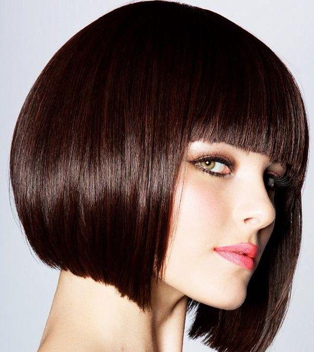 Kahküllü Küt Kesim Saç Modeli
