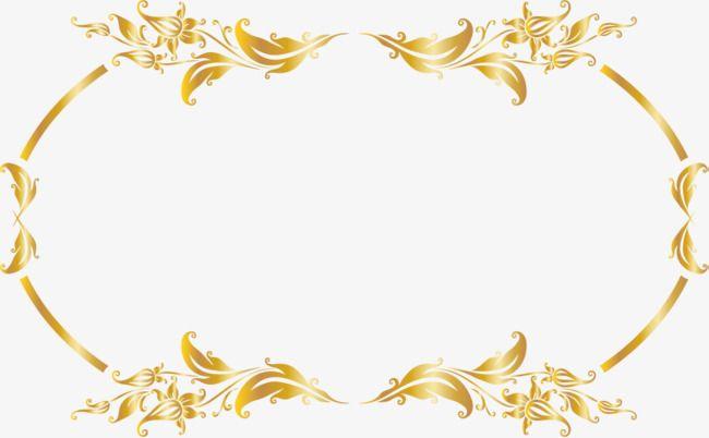 Luxury Gold Border Gold Clipart Clip Art Borders Wedding Symbols