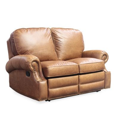 Longhorn Leather Reclining Loveseat,    #Sofas,    #BCL1336