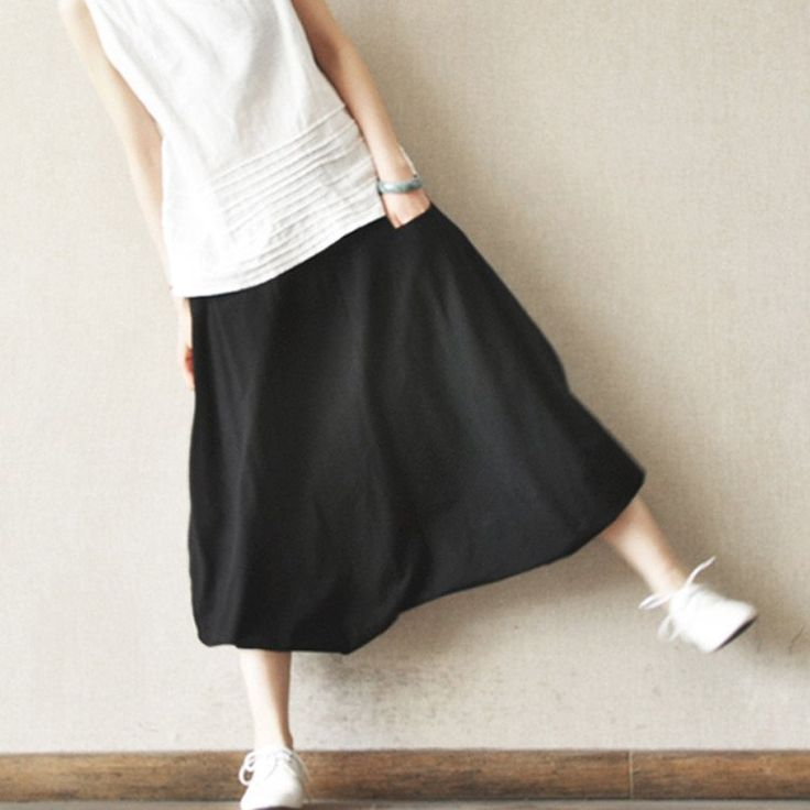 Turnip Pants Loose Cotton Women Trousers Maxi Size Pants Girl Casual Clothes Trousers