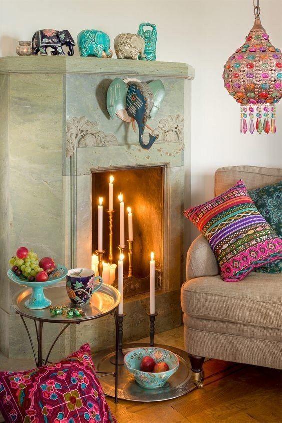Сказочный марокканский стиль – это сочетание африканских, средиземноморских и арабских мотивов. #бодрый #дизайн