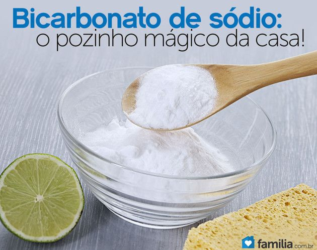 15 utilidades para o bicarbonato de sódio