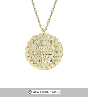 """Loving Family Personalized Necklace"""