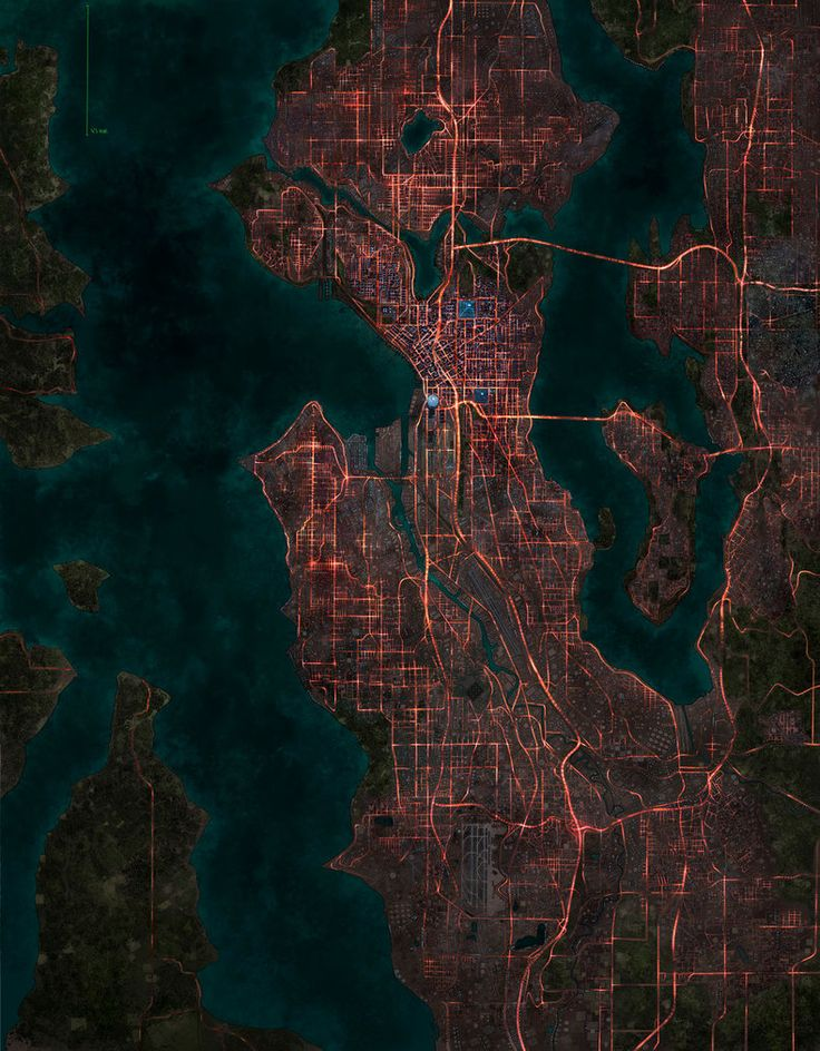 Shadowrun Seattle by pigarzo on DeviantArt 63