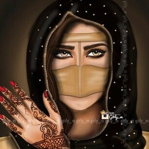 Arabic Girl Girly M Arabian Art Girly