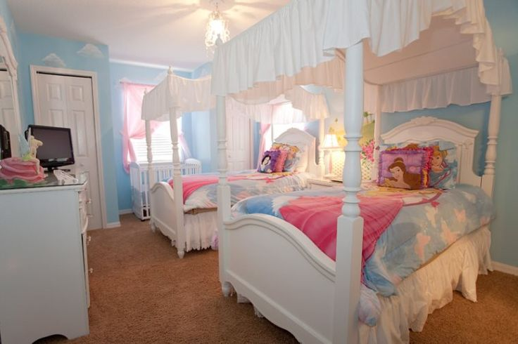 A Touch Of Magic And Canopy Beds Help Kids Feel Like