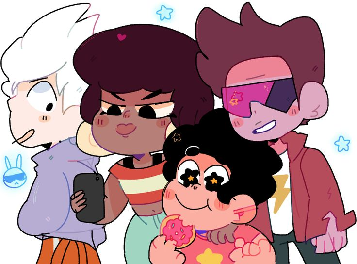 Steven and the cool kids
