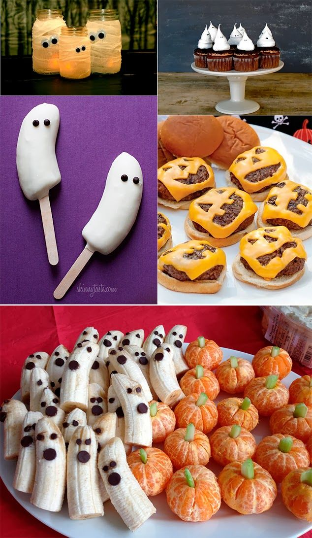 Halloween Ideas - made the cheeseburgers w/pumpkin cheese faces. So much fun with the kid.