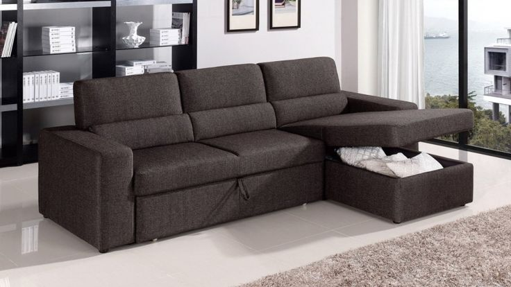 Best 25 small sectional sleeper sofa ideas on pinterest - Small couch with chaise ...