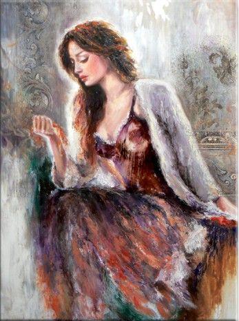 Liana Gor - Memories 40x30 - Oil on Canvas