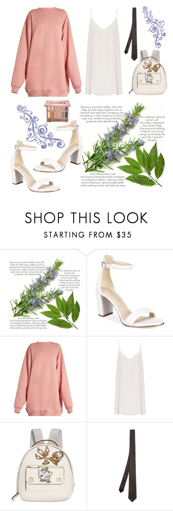 """Step Up: Block heels"" by ohbente ❤ liked on Polyvore featuring Kenneth Cole, Acne Studios, Raey, Danielle Nicole, Alexander McQueen and Urban Decay"