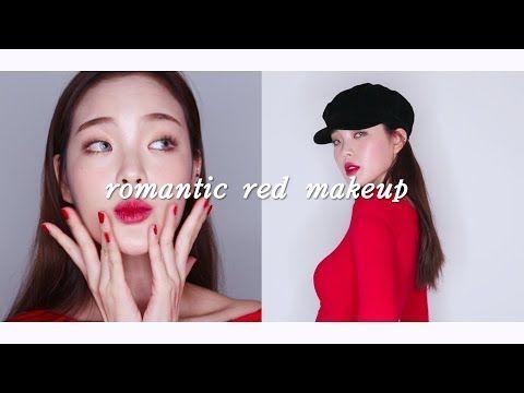 로맨틱 레드 메이크업 & 룩  Romantic red look 💋 [ENG CC]