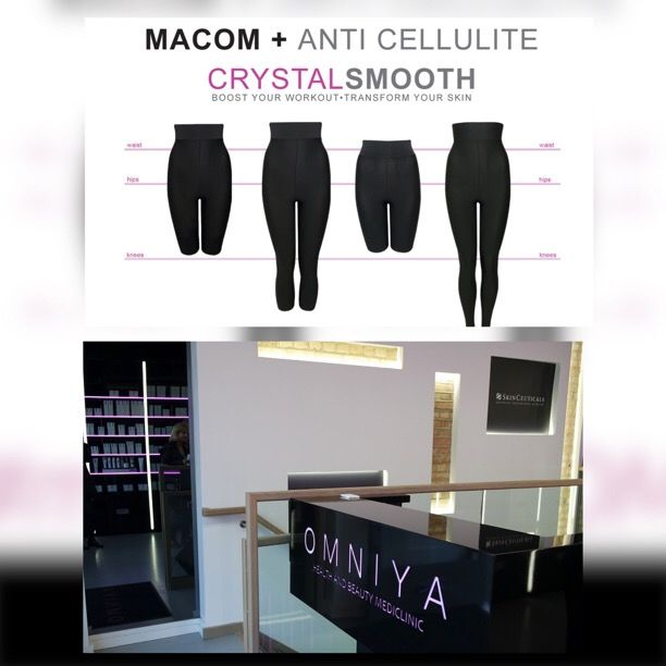 You can now find MACOM anti-cellulite and waist sculpting garments at this stylish MediClinic in London, Knightsbridge @omniyalondon   - Check them out!