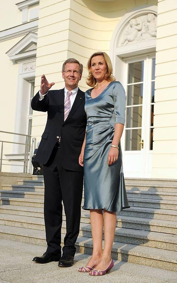 Christian und Bettina Wulff beim Sommerfest des Bundespräsidenten 2010
