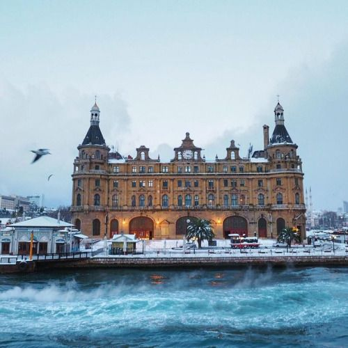 Winter ❄️❄️ Haydarpasa Train Station,Istanbul,Turkey…..  by Çiler Geçici (audiosoup)