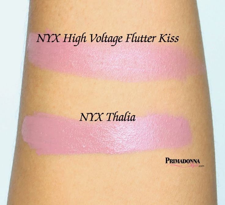 nyx high voltage lipstick flutter kiss dupe nyx thalia