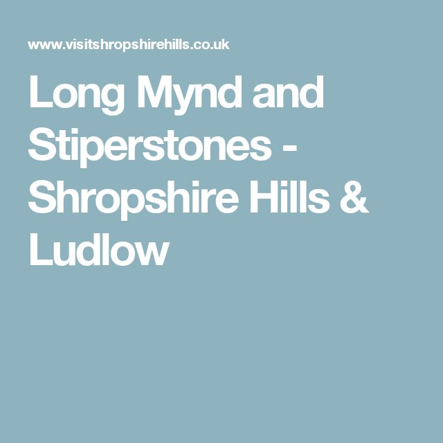 Long Mynd and Stiperstones - Shropshire Hills & Ludlow