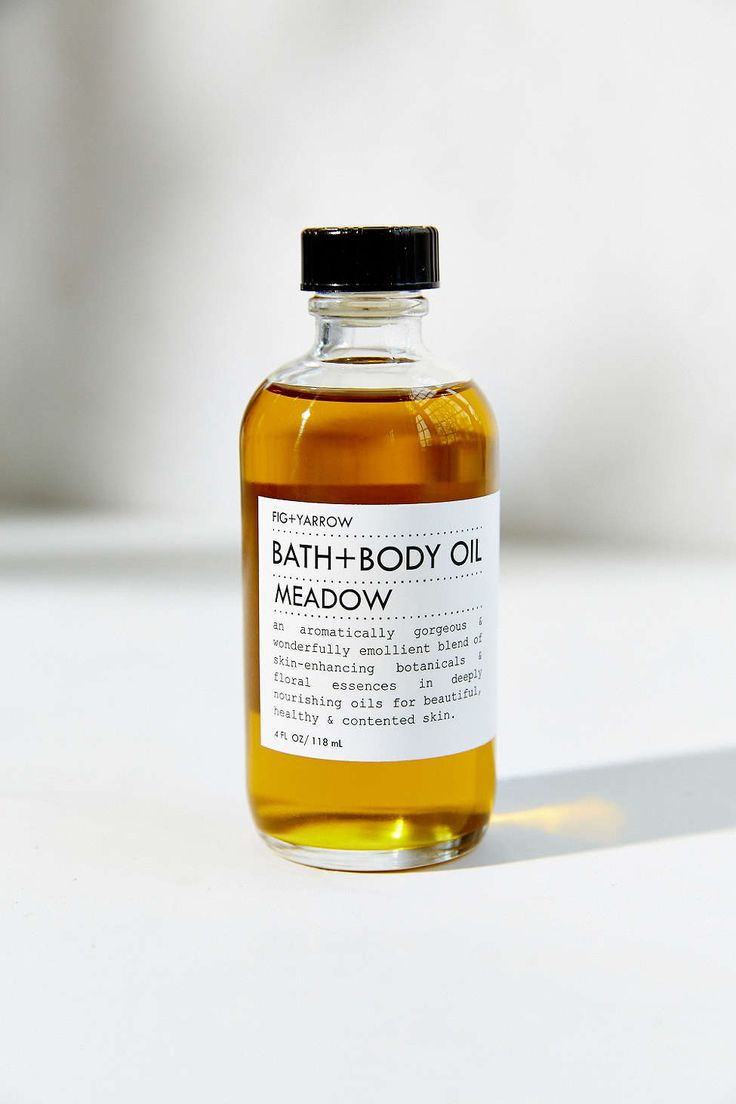 Fig + Yarrow Bath & Body Oil [$42] | Ingredients: Oils of hemp seed, olive fruit, grape seed, avocado seed; yarrow, comfrey, horsetail, calendula, rosemary leaf extract, Tocopheral (vitamin e, GMO-free), essential oils of cypress, atlas cedar, juniper, vetiver, carrot seed, amyris, patchouli