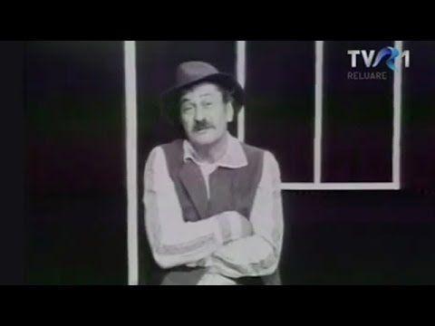 Amza Pellea - moment din emisiunea Fantezie în alb și negru (1976)