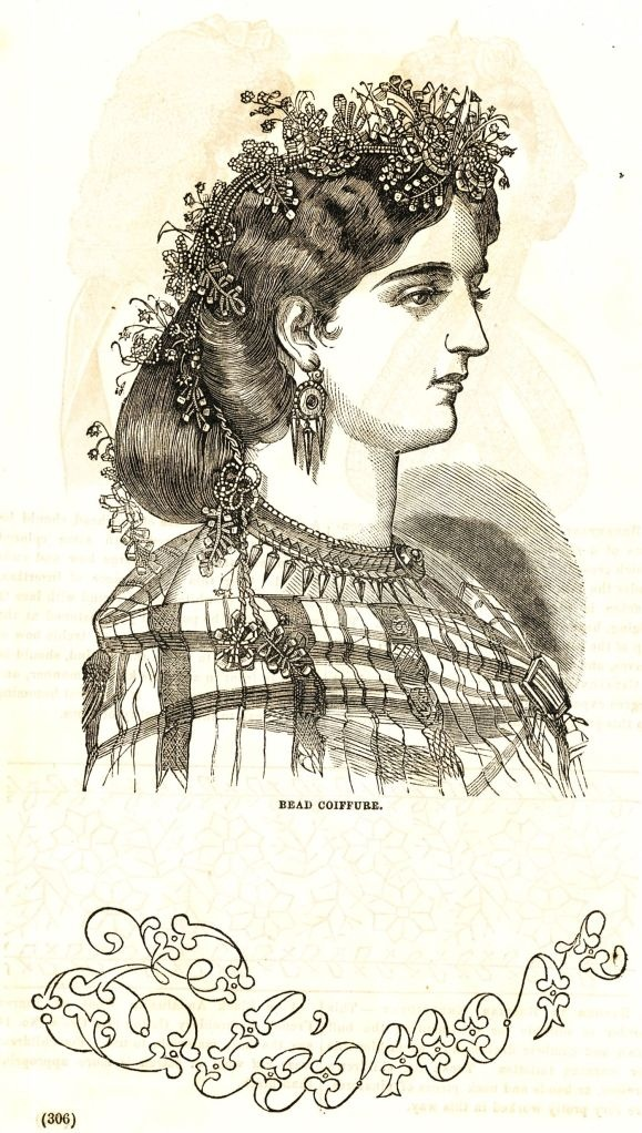 Civil War Fashions and Hairstyles - Engravings from 1864 Ladies Friend Magazine