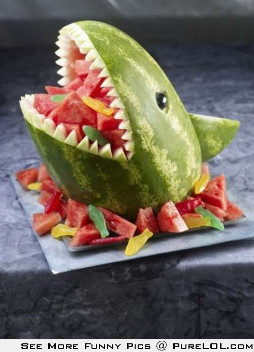 Watermelon Shark - great for the kids or a beach party!