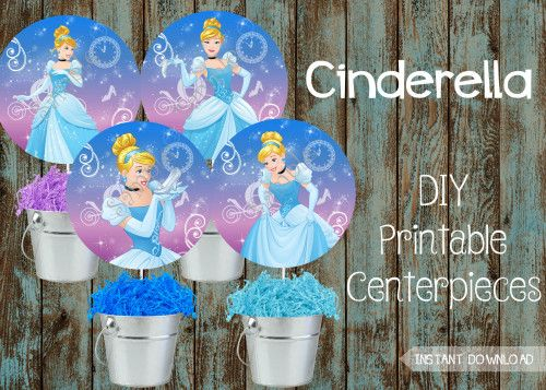 Cinderella Birthday Party Package Supplies