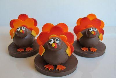 Turkey Cake Balls!   SugaredProductions