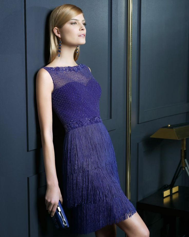 mavi transparan elbise modelleri