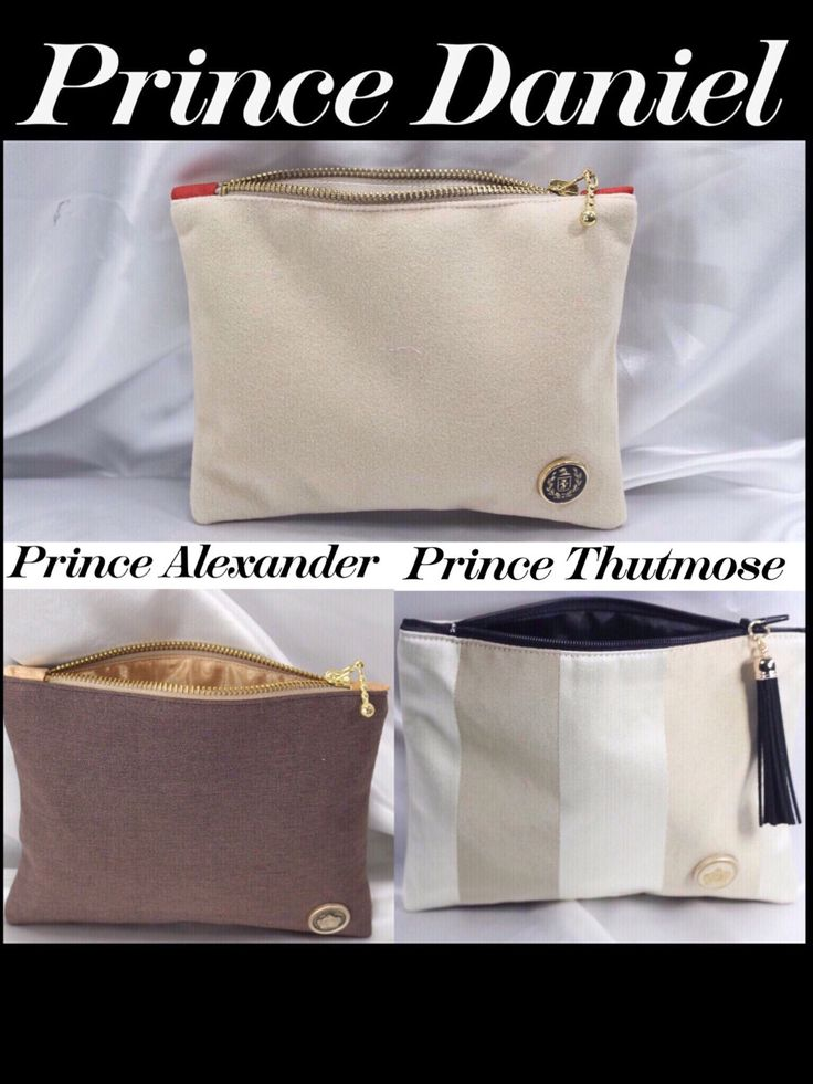 PRINCE Daniel Alexander Thutmose zipper pouch/gift for him/tool pouch /BIRTHDAY Gift/dad gift size 7.5x5.5 handmade by R.MarcellCollections by RMarcellCollections on Etsy