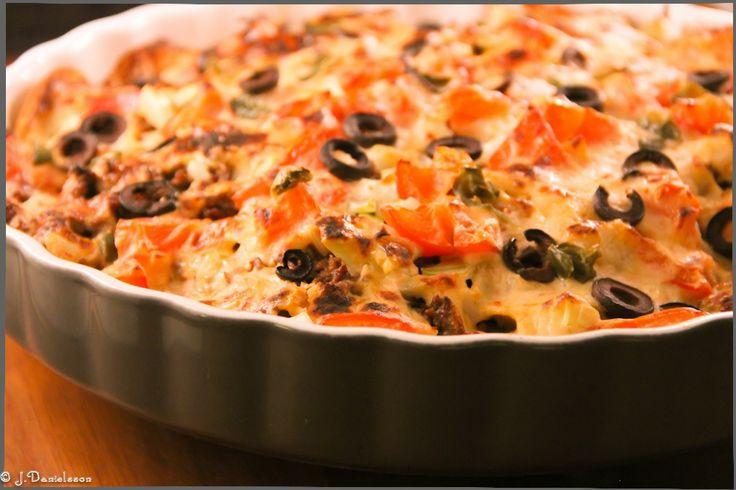 Gratinerad Nachipspaj 4 Port #slankosund #paj #pie #nachips #nachipspaj ##texmex #texmexrecept #texmexrecipes #recette #recept #recipe