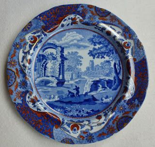 Spode History: Spode and Italian Pattern