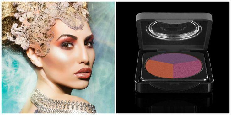 Oranje-paars oogschaduw Make-up Studio Beautiful Make-up Studio eyeshadow #Summer #Goddess