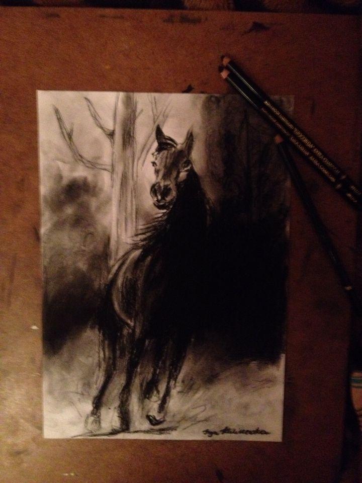 Horse by Inga Kaliszewska