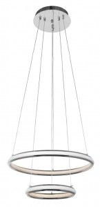 Lampa sufitowa JOWISZ biała chrom 88W LED pilot Venti P-MD 9994-2 CR