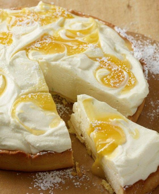Lime Pie mit Lemon Curd