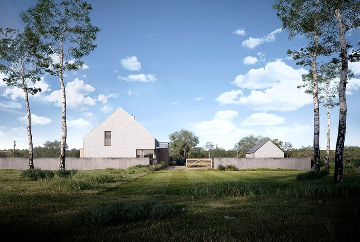 Cottage House design for client from Sucha Beskidzka. Project and visualization…