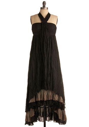 falling night dress via modcloth