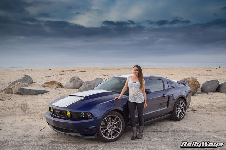 Dani Devor And Her Kona Blue Ford Mustang Gt Rallyways