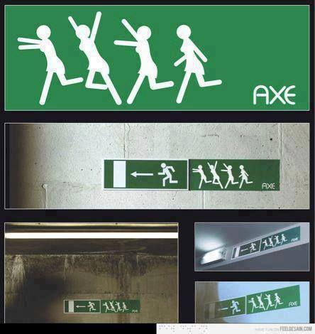 EFECTO AXE. Marketing de Guerrilla.