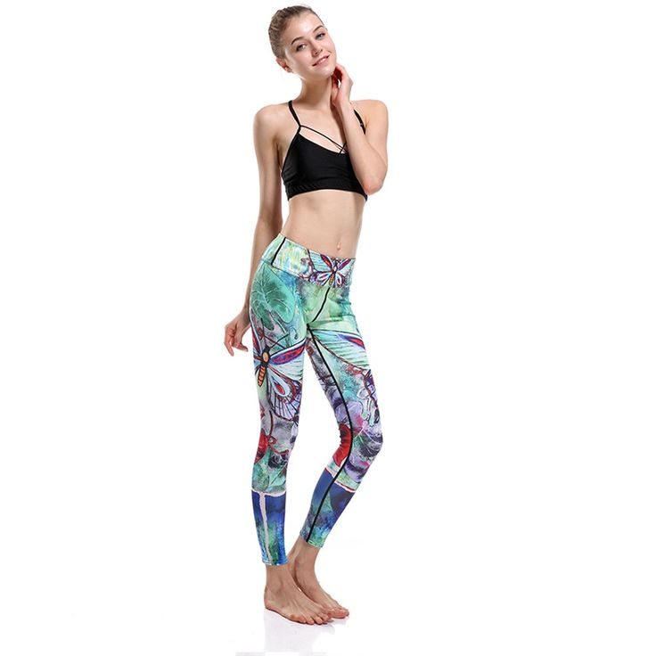 Cute 3D Print Butterfly Adventure Time Push Up Leggings Animal 3D Print leggings, leggings with animal prints, leopard print leggings, zebra print leggings, tiger print leggings, butterfly print leggings, womens leopard leggings, womens zebra leggings, womens tiger leggings, plus size animal leggings, best animal print leggings, workout animal print leggings.