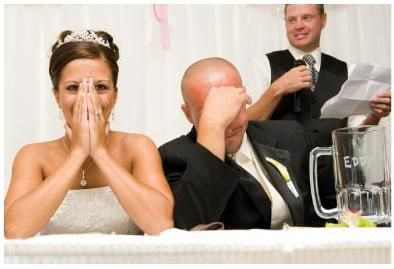 looking for funny wedding speeches ? Have a look Sample Wedding Speeches Website, here you'll find perfect gag to start your wedding speech