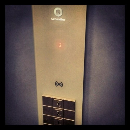 Schindler's lift… #kloostergang #nieuwelift  (Taken with Instagram at Kloostergang)