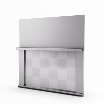 omega real stainless steel backsplash 30 inches bstp s home depot