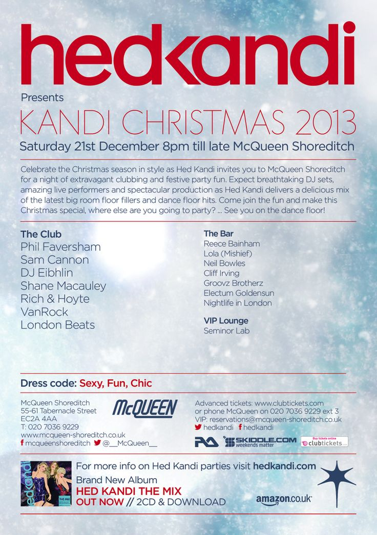 The first Hed Kandi Gig in London