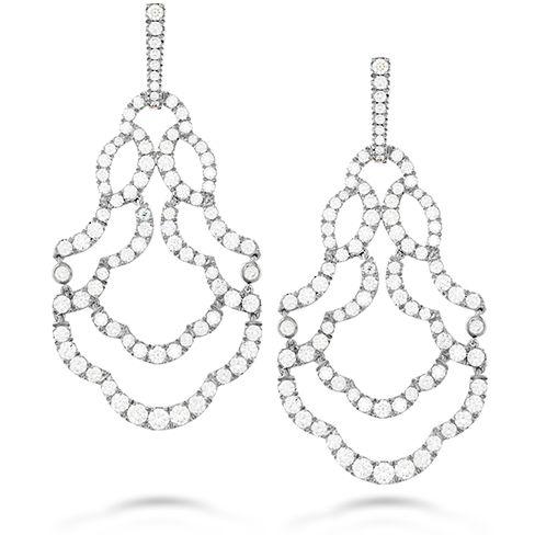 Lorelei Chandelier Diamond Earrings #heartsonfire #ignitesomething
