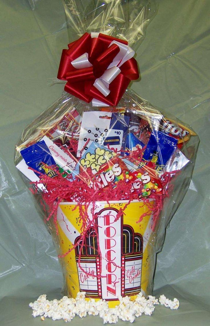 Bridal Shower Games: Bridal Shower Prize Basket Ideas. This would be neat with a red box gift card