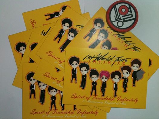 postCARD   1st World TOUR and 1st Anniversary Inspirit of Asia (G+)   created by +Ratna Har (Little Lumut)