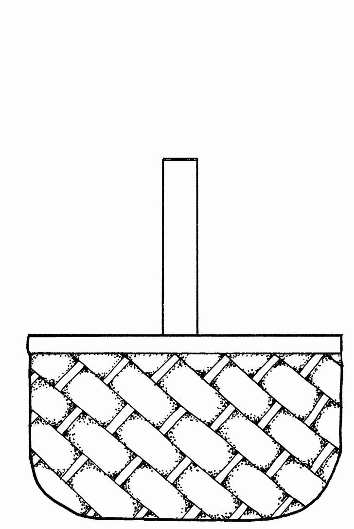 Empty Easter Basket Coloring Page In 2020 Picnic Basket Crafts Picnic Quilt Empty Easter Baskets